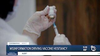 Misinformation driving vaccine hesitancy