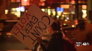 KC demonstrators gather for unity following presidential election