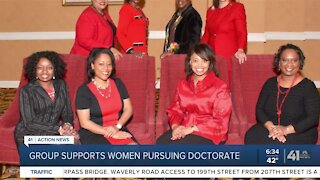 Group supports women pursuing doctorate