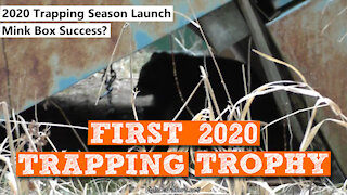 S2:E36 First 2020 Trapping Trophy Raccoon | Kids Outdoors