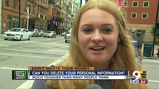 Some services will delete your personal information online