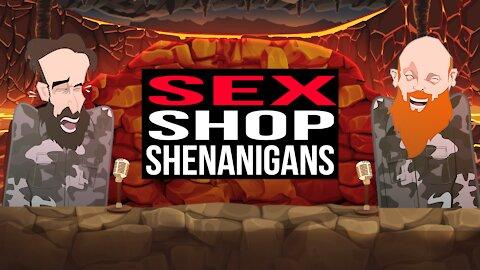 SEX SHOP SHENANIGANS   BUER BITS  
