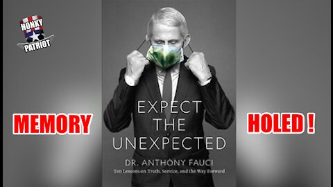 DR. FAUCI'S BOOK 'EXPECT THE UNEXPECTED' HAS BEEN PULLED !