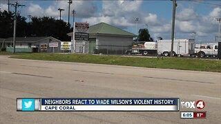 Neighbors react to Wade Wilson's Violent History