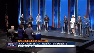Candidates confident after Democratic gubernatorial debate