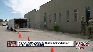 NE National Guard tests 300 at ODM