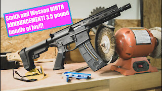 The NEW Smith and Wesson M&P 15-22 LR Pistol: 3.5 pounds of EVERYTHING to LIKE!