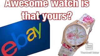 Reviewing Watch from eBay