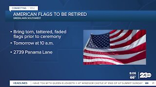 American flags to be retired