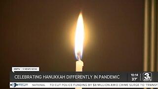 Celebrating Hanukkah differently in pandemic