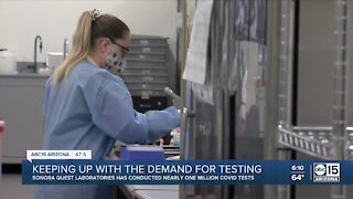 Keeping up with the demand for COVID testing