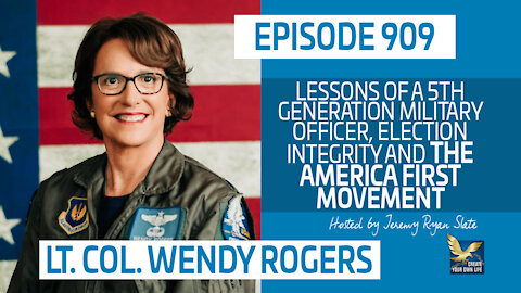 Wendy Rogers on Military Service, Election Integrity and the America First Movement