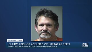 St. Louis man charged with luring Arizona girl to Missouri