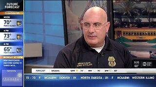 Police Chief   Have fun, be safe at Gasparilla