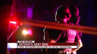 Man shot, killed by police officers after shootout on Detroit's west side