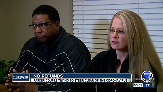 Coronavirus concerns stop Parker's couple trip to Asia, say cruise line refuses to issue refund