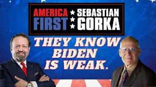 They know Biden is weak. Victor Davis Hanson with Sebastian Gorka on AMERICA First