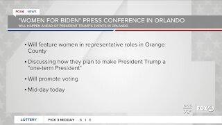 Women for Biden Orlando press conference