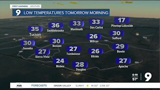 Warmer weather on the way