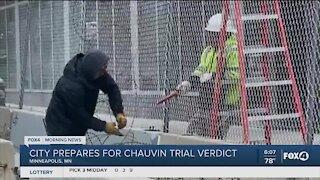 City of Minneapolis prepares for Chauvin verdict