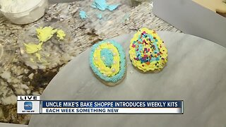 Uncle Mike's offers take home cookie decorating kits