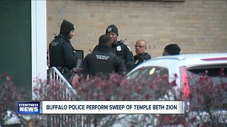 Police perform sweep of Buffalo temple, Jewish Community Center