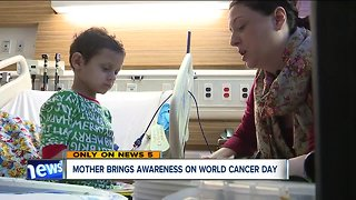 Mother brings awareness on World Cancer Day