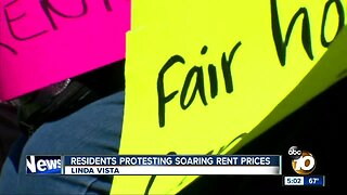 Tenants rally against rising rents