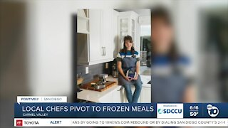 San Diego woman creates frozen meal delivery service to help local chefs, restaurants