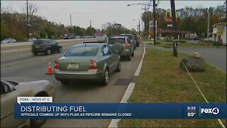 Gas prices climb as distribution challenges continue