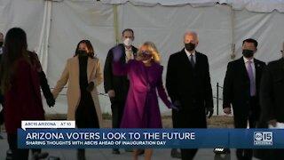 Arizona voters look to the future