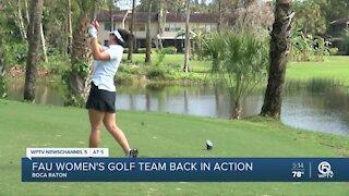 FAU, other schools return to golf in Boca Raton