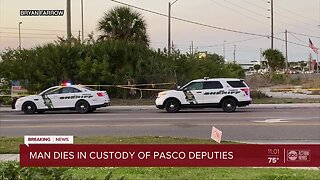 Man dies after leading deputies on foot chase, getting shocked by Taser in Pasco County