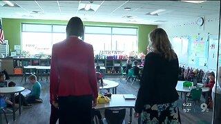 State Superintendent Kathy Hoffman talks about coronavirus