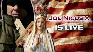 Prayers for our Dear Friend Sally and the Latin Mass   Joe Nicosia is Live!