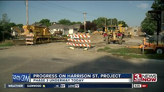 Phase 3 of Harrison Street project begins