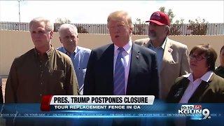 Trump on Southern Border