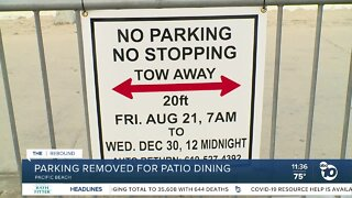 PB parking removal for outdoor dining sparks debate