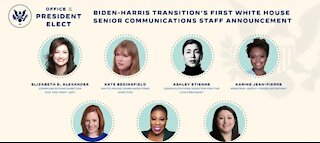 Joe Biden chooses an all-female senior White House press team
