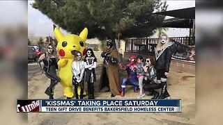 3rd annual 'Kissmas' fundraiser benefiting the BHC