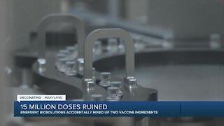 15 million Johnson & Johnson vaccine doses ruined