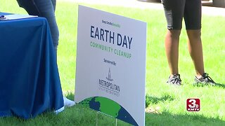 Keep Omaha Beautiful celebrates Earth Day with cleanup project at Adams Park in North Omaha
