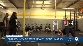 """ADHS: Pima County """"likely"""" to meet benchmarks for businesses to reopen Thurs."""