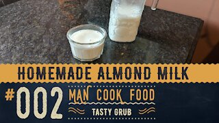 Homemade Almond Milk | A Recipe that simply rocks!