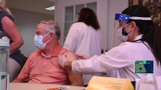 St. Lucie County holds second dose vaccination clinic