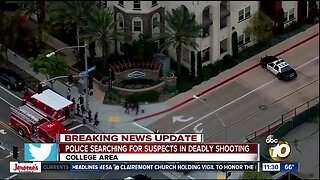 Police search for suspects in College Area shooting