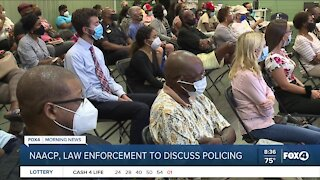 Lee County NAACP and Fort Myers Police Department holding police reform meeting Wednesday