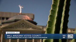 Will Arizona votes count?