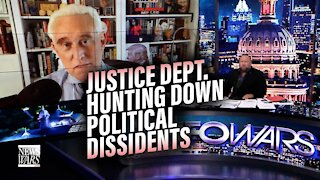 Roger Stone- Justice Dept. Openly Hunting Down Political Dissidents