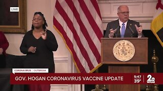 Gov. Hogan issues new guidelines for vaccine distribution